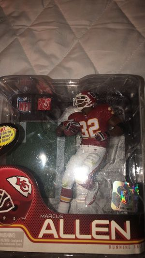 McFarlane Toys Marcus Allen Action Figure for Sale in Morgan Hill, CA