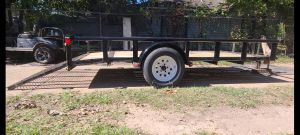6x12 Pipe top Trailer / Traila for Sale in Houston, TX