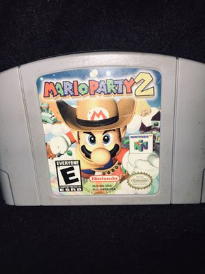 Mario Party 2 N64 Classic Nintendo Game Cartridge for Sale in Winder, GA