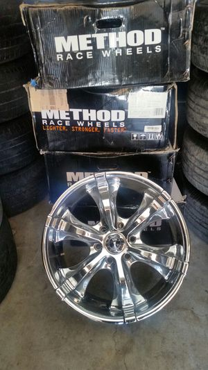 """18"""" rims 6 lug chevy for Sale in Riverside, CA"""