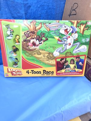 Looney Tunes 4-Toon Race Board Game 2003 New for Sale in Azusa, CA