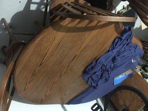 "Wooden table (58 x 42"") for Sale in Oakley, CA"