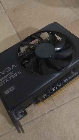 Evga gaming GeForce gtx 750 ti sc graphics card for Sale in Hillsboro, OR