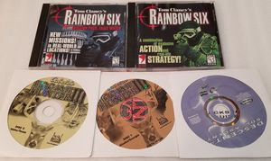 PC Games Rainbow Six & Cabela's Big Game Hunter III & Descent 3 for Sale in Parma Heights, OH