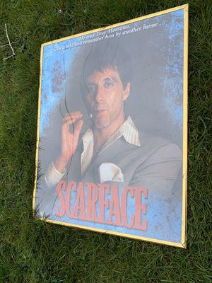 Scarface Framed Art for Sale in Everett, WA