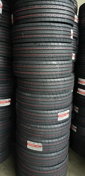 235/85/16 NEW TRAILER TIRES 14PLY FOR 150 DOLLARS WITH EVERYTHING INCLUDED TAX INCLUDED FINANCING AVAILABLE NO CREDIT CHECK, 90 DAYS SAME AS CASH for Sale in Houston, TX