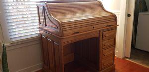 Authentic antique roll top desk for Sale in Boulder City, NV