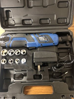 New 3/8 Inch Cordless Ratchet Set for Sale in Rialto, CA