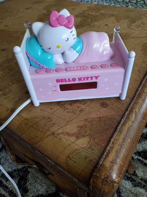 Hello kitty alarm clock for Sale in Saint Charles, MO
