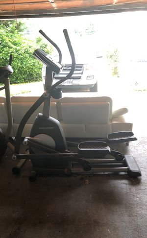 Elliptical treadmill and exercisebike for Sale in West Springfield, VA