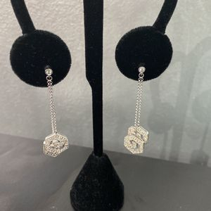 Diamond Dangle Earrings for Sale in Hollywood, FL