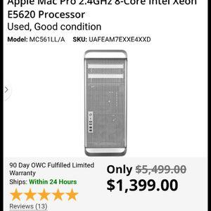 Apple Mac Pro 8 Core Intel Xeon E5620 Processor for Sale in Tacoma, WA