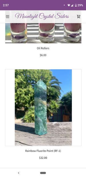 Rainbow Fluorite Point $32 for Sale in Oakland, CA