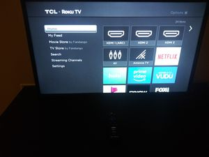 "32"" TCL Roku smart tv for Sale in Baltimore, MD"