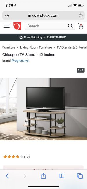 Chicopee TV Stand - 42 inches (tan color) for Sale in Mountain View, CA