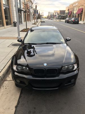 2004 BMW M3 Black for Sale in Woodbridge, VA