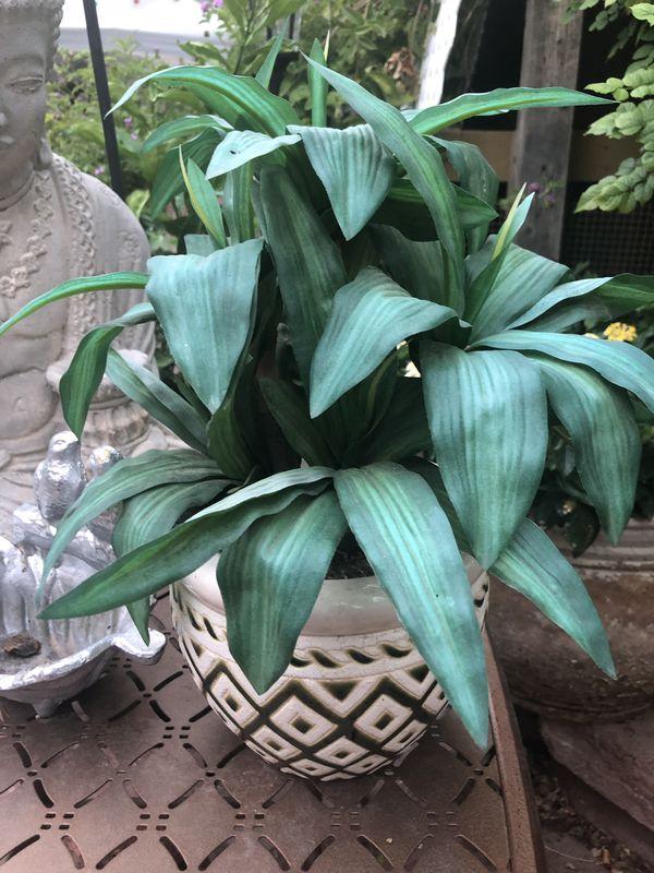 Fake small plant