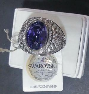 Swarovski Crystal Ring for Sale in Mercedes, TX