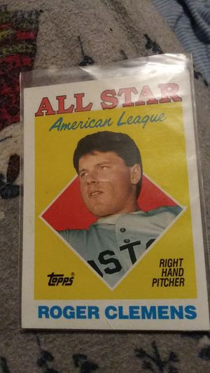 Roger Clemens All Star Topps card #394 for Sale in Downey, CA
