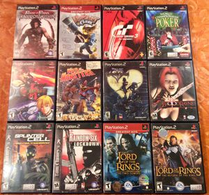 12 PlayStation 2 Games $50 for Sale in Moreno Valley, CA
