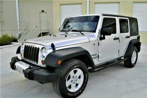 2012 Super Clean Jeep Wrangler V6 Sport for Sale in Denver, CO