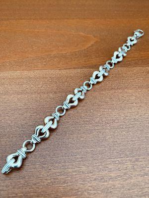 LAGOS Derby Link Silver Bracelet for Sale in Springfield, VA