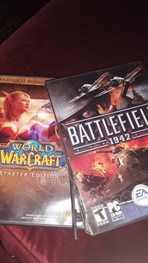 Two PC games for 3$ you pay shipping for Sale in Atlanta, GA