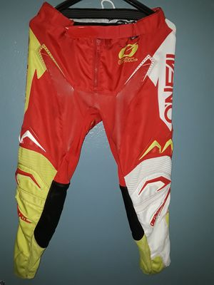 MENS ONEAL AIR FLOW PERFORMANCE MOTOCROSS RACING PANTS. SIZE 34. $60 for Sale in LAKE MATHEWS, CA