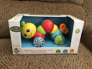 NEW Press N Go Caterpillar Baby Toy for Sale in St. Peters, MO