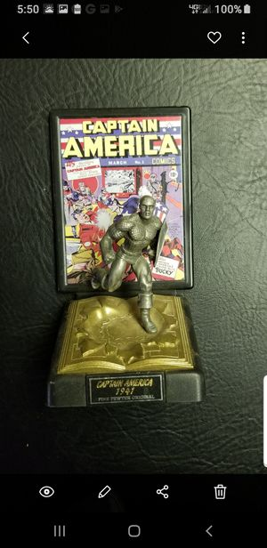 Pewter Captain America figure for Sale in Lakeside, CA