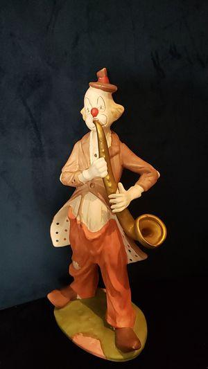 "12"" Hobo Clown Playing Golden Saxaphone for Sale in Norcross, GA"