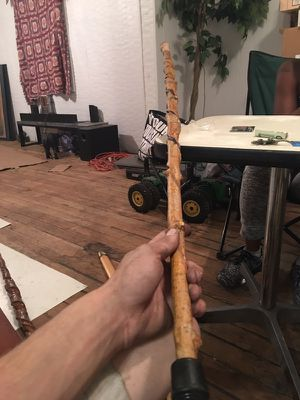 Vintage hand made waking sticks for Sale in Cleveland, OH