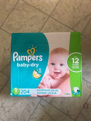 Pamper diapers brand new never opened for Sale in Nashville, TN