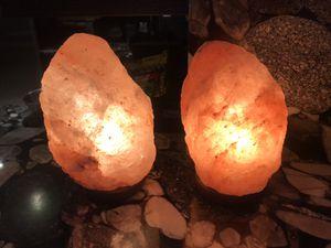 Set of salt lamps for Sale in Fort Lauderdale, FL