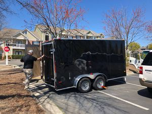 2018 Covered Wagon Trailer, GVWR 7000lb for Sale in Cary, NC