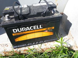 Car battery Duracell for Sale in Durham, NC