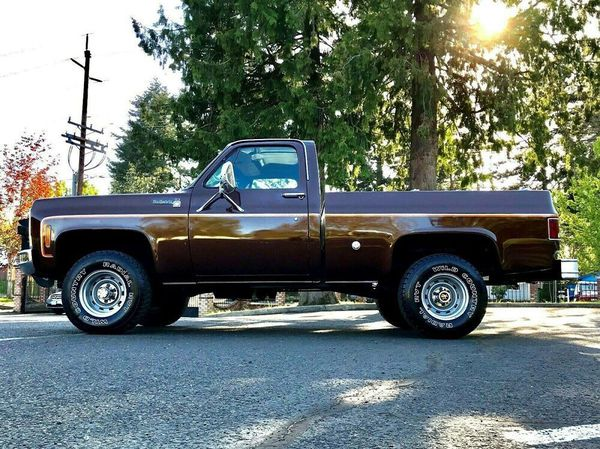 1979 Chevy K10 short bed 4x4