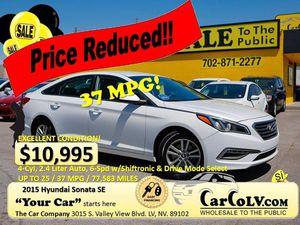 2015 Hyundai Sonata for Sale in Richmond, CA