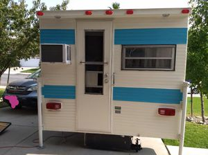 1972 Lance CabOver Truck Camper for Sale in Fontana, CA