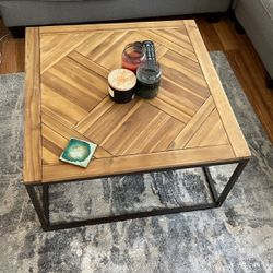 Reclaimed Wood Coffee Table - Lightly Used for Sale in New York,  NY