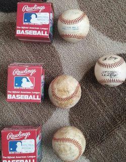 Rawlings American League Used Baseballs for Sale in Germantown,  MD