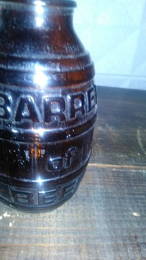 Antique glass bottle of beer for Sale in Garland, TX