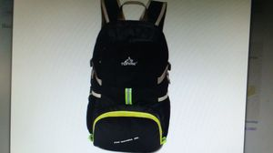 Backpack, Portable, Folding, Daypack, Hiking, Travel, Black, New for Sale in Goodyear, AZ