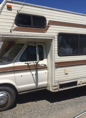 26 ft Motorhome C class 1984 Ford Econoline E350 for Sale in Tacoma, WA