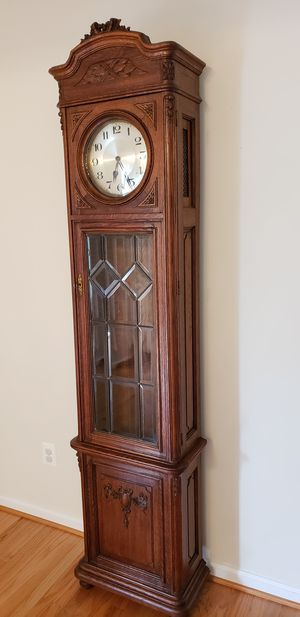 Must go ASAP Antique france 1900 grandfather clock for Sale in Gaithersburg, MD
