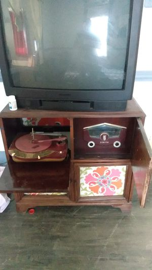 Antique record player dresser for Sale in San Antonio, TX
