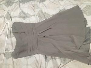 Grey dress from David's bridal for Sale in Philadelphia, PA