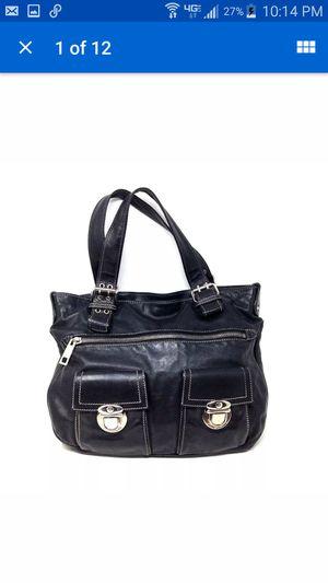 Mark Jacobs Black Leather Satchel Handbag Shoulder Purse Italy for Sale in Huntington Beach, CA