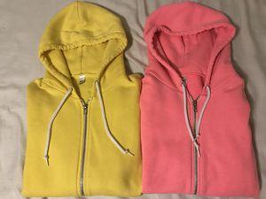 American Apparel F497 Hoodie - Yellow & Pink for Sale in Renton, WA