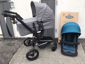 Jane micro luxury stroller with bassinet for Sale in Upper Arlington, OH